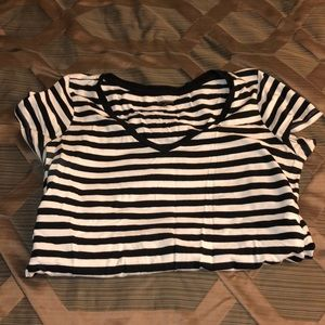 Maternity v neck shirt